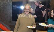 Οι συντελεστές της παράστασης «Φεγγίτης» έκοψαν την πίτα τους