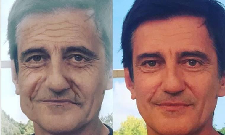 Ο Θοδωρής Κουτσογιαννόπουλος ποστάρει τον εαυτό του 10 χρόνια…μετά
