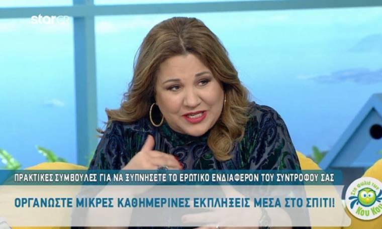 Δέσποινα Μοιραράκη: Αποκαλύπτει πώς μπορείς να αγγίξεις συναισθηματικά έναν άνδρα!