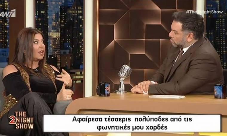 Άντζελα Δημητρίου: «Έχασα τη γη κάτω από τα πόδια μου, δεν ήξερα αν θα ξαναμιλήσω μετά την επέμβαση»