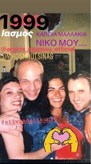 Νίκος Μουτσινάς: Τον... έκαψε το #10yearschallenge! Δείτε τον με μαλλιά πριν από πολλά-πολλά χρόνια!