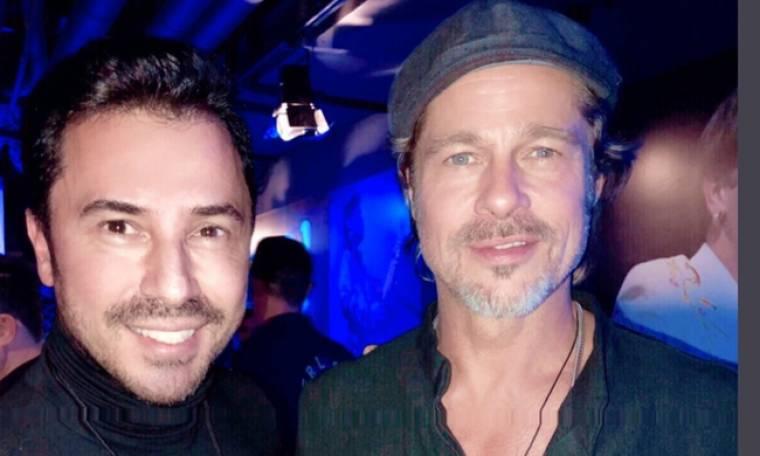 Ο Γιώργος Σατσίδης συνάντησε τον Brad Pitt!