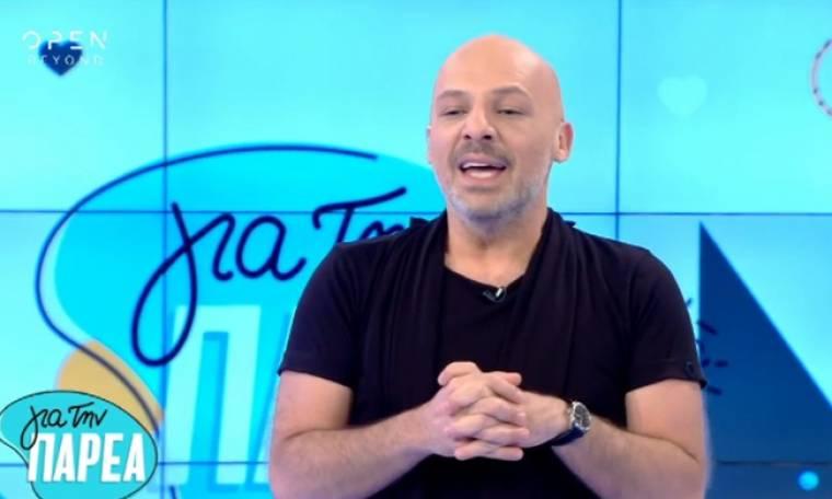 Τηλεθέαση: Ξανά στην κορυφή ο Νίκος Μουτσινάς!