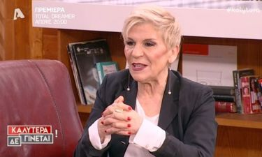 Χρύσα Ρώπα: «Έχω βγάλει περισσότερα χρήματα από το θέατρο παρά από την τηλεόραση»