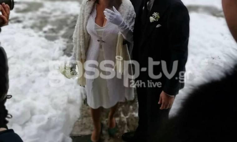 Μυστικός γάμος στο ΣΚΑΪ μέσα στα χιόνια (ΦΩΤΟΓΡΑΦΙΕΣ)