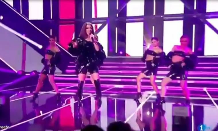 Ελένη Φουρέιρα: Εμφανίστηκε στον ισπανικό τελικό της Eurovision και εντυπωσίασε!