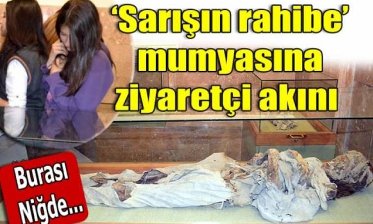 Το σκήνωμα της καλόγριας που προκαλεί δέος στους Τούρκους