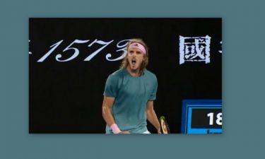 Επική πρόκριση στα ημιτελικά του τουρνουά Αυστραλίας για τον 20χρονο Στέφανο Τσιτσιπά
