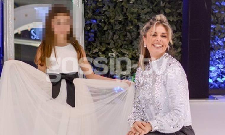 Κατερίνα Λάσπα-Νεκτάριος Νικολόπουλος: Απόλαυσαν την κορούλα τους στην πασαρέλα