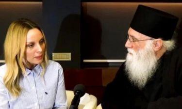 Η Πέγκυ Ζήνα συζητά με τον Γέροντα Νεκτάριο (βίντεο)