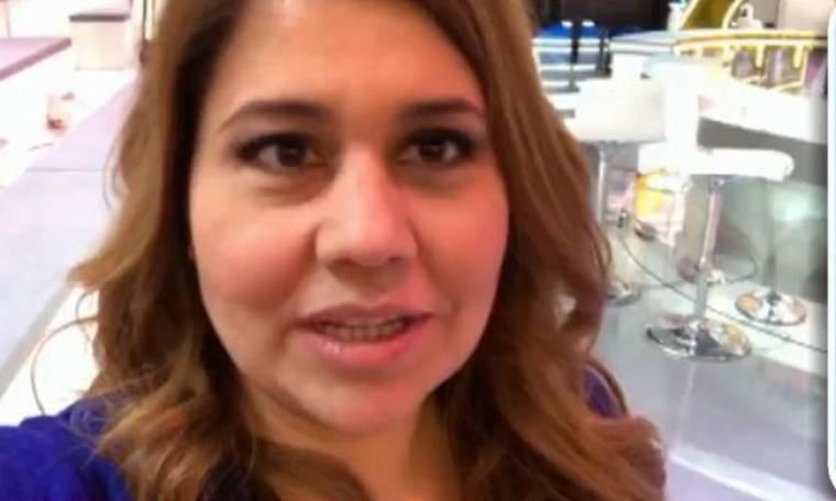 Η Μαριέλλα Σαββίδου στη Γαλλική τηλεόραση!