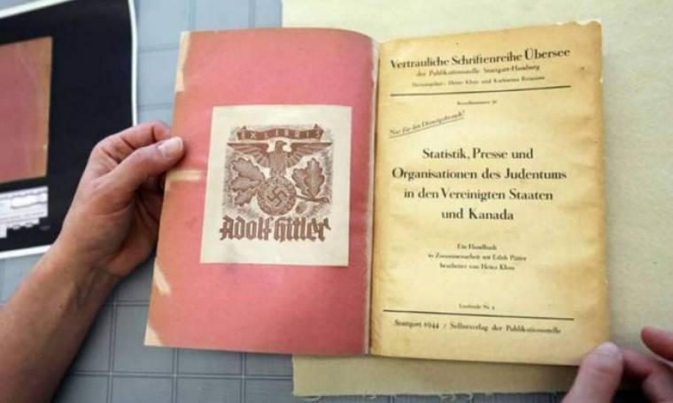 Βιβλίο του Αδόλφου Χίτλερ αποκαλύπτει τα σχέδια του για το Ολοκαύτωμα στη Βόρεια Αμερική..