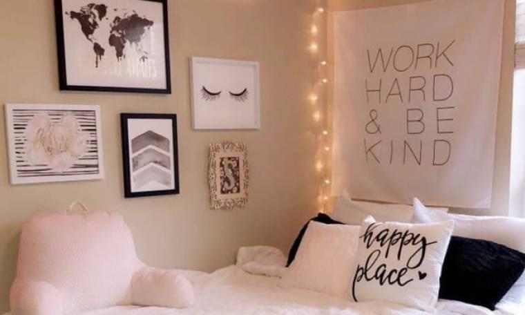 Δημιούργησε τον πιο «εσύ» τοίχο για το δωμάτιό σου με απλά υλικά