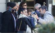 Ησαΐας Ματιάμπα: Οικογενειακή βόλτα στο κέντρο της Αθήνας