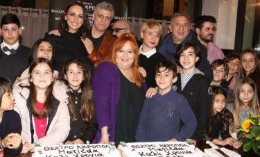 Οι συντελεστές της παράστασης Matilda έκοψαν την πίτα τους!