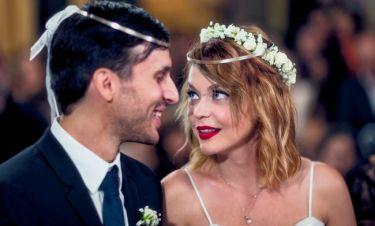 Λένα Παπαληγούρα: Μιλά πρώτη φορά για τον γάμο της δύο μήνες μετά τον ερχομό του γιου της