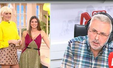 Σάσα Σταμάτη: Δε φαντάζεστε τι της είπε ο Βερύκιος on air για το κόψιμο της εκπομπής της