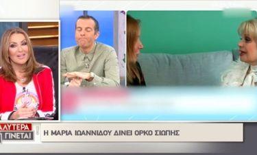 Η αντίδραση της Ναταλίας όταν άκουσε πως η Μαρία Ιωαννίδου ορκίστηκε στη μνήμη του πατέρα της
