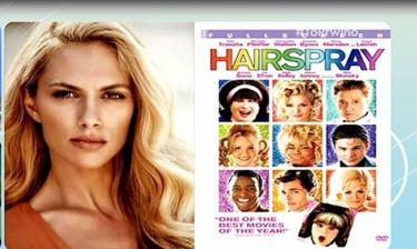 Η Ντορέτα Παπαδημητρίου στο ρόλο της Michelle Pfeiffer στο Hairspray