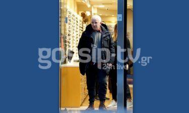 Πέτρος Φιλιππίδης: Βόλτα στη Γλυφάδα για ψώνια