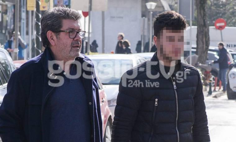 Γιάννης Λάτσιος: Βόλτα στην Κηφισιά με τον γιο του, Άγγελο!