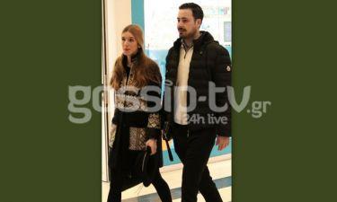 Κουσουλός-Ζαφειροπούλου: Η δημόσια εμφάνιση μετά την ανακοίνωση της εγκυμοσύνης