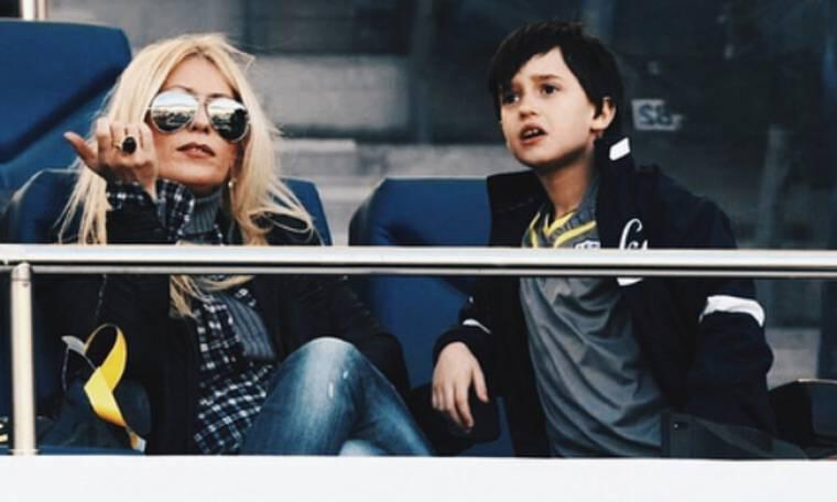 Άρης Αργυρόπουλος: Αυτός είναι ο μικρότερος γιος της Μαρίας Μπακοδήμου (pics)