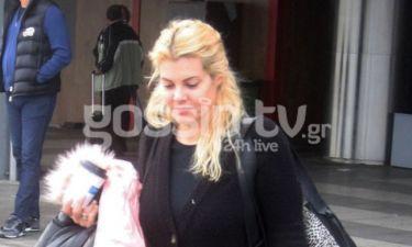 Μαρία Κορινθίου: Η κόρη της μεγάλωσε και είναι μια κούκλα με… στιλ!