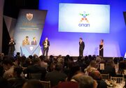 Ο Αντιπρόεδρος Α' ΟΠΑΠ, Σπύρος Φωκάς, στη διάρκεια της ομιλίας του στην εκδήλωση της Ελληνικής Παραολυμπιακής Επιτροπής