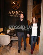 Φιλίτσα Καλογεράκου-Γιάννης Ζαραφωνίτης: Ραντεβού για δύο στο κέντρο της Αθήνας