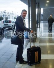 Θοδωρής Ζαγοράκης: Ευδιάθετος στο αεροδρόμιο Θεσσαλονίκης!