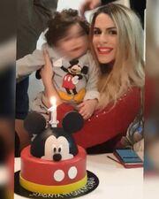 Απίστευτο! Η Φραντζέσκα Μελά του Big Brother 1 γιόρτασε τα πρώτα γενέθλια του... εγγονού της!