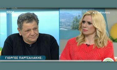 Ξέσπασε ο Γιώργος Παρτσαλάκης κατά του Σεφερλή: «Να μην τον ξαναδώ μπροστά μου…»