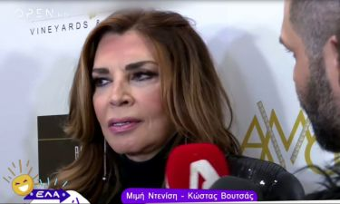 Ντενίση: Η δήλωσή της on camera για την αποχώρηση του Βουτσά από την παράσταση