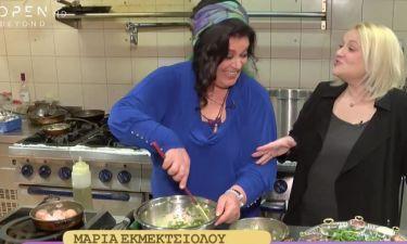 Μαρία Εκμεκτσίογλου: Δεν θα πιστεύετε τι είπε στη νύφη της επειδή δεν ήξερε να φτιάχνει ντολμαδάκια!