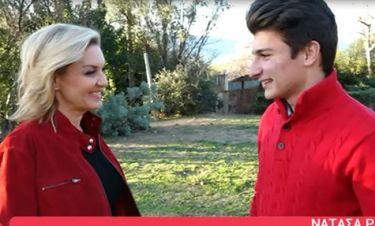 Νατάσα Ράγιου: Άνοιξε το σπίτι της και έδωσε την πιο γλυκιά συνέντευξη με τον 17χρονο γιο της