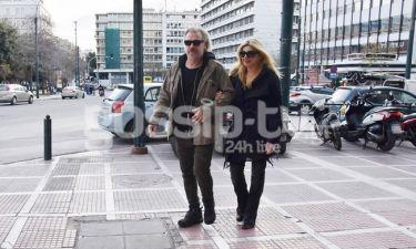 Κώστας Σπυρόπουλος-Χριστίνα Πολίτη: Βόλτα για δύο στο κέντρο της Αθήνας