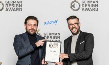 ΄Ελληνες βραβεύτηκαν στα GERMAN DESIGN AWARDS 2019 με το βραβείο Excellent Communications Design