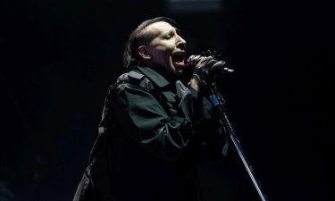 Ο Marilyn Manson στην Ελλάδα - Φωτό από την επίσκεψή του στην Ακρόπολη