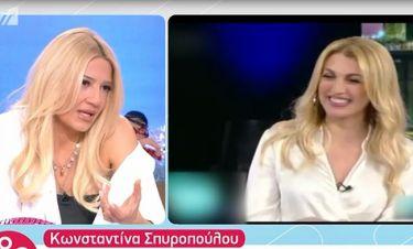 Σκορδά: Η αμηχανία της on air με τα καρφιά που ακούστηκαν για την Σπυροπούλου