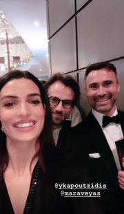 Τόνια Σωτηροπούλου-Κωστής Μαραβέγιας: Μαζί στα Brit Awards