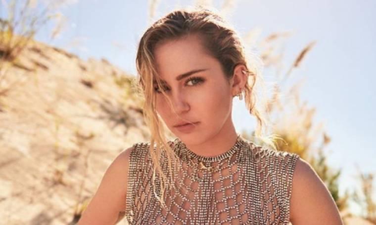 Miley Cyrus: Η προκλητική φωτογραφία της φρεσκοπαντρεμένης τραγουδίστριας