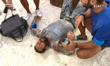 Τραυματίστηκε ο Κυριάκος Πελεκάνος στο κεφάλι! Η ανησυχία και η αποχώρηση από τον στίβο μάχης!