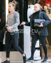 Μαρία Σάκκαρη! Για ψώνια και beauté με τη μαμά της Αγγελική Κανελλοπούλου!