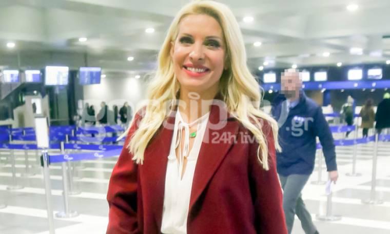 Ελένη Μενεγάκη: Ταξίδι εξπρές με κέφι και... μπρίο στη Θεσσαλονίκη!