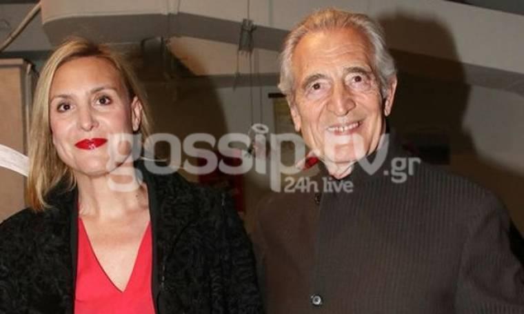 Γιώργος Κοτανίδης: Σπάνια εμφάνιση του ηθοποιού με την κόρη του