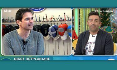 Νίκος Πουρσανίδης: Δεν φαντάζεστε πόσο χρονών ήταν όταν έκανε τον γιο της Σωσώς στα «Εγκλήματα»