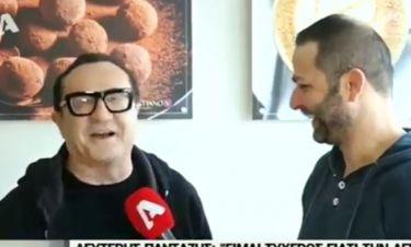 Λευτέρης Πανταζής: Η απίστευτη ατάκα του όταν ρωτήθηκε αν ήταν ζευγάρι με τη Καγιά