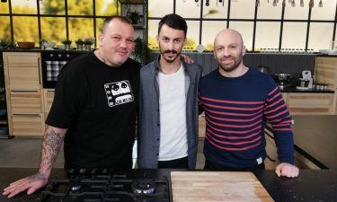 Το Food n' Friends υποδέχεται τον αθλητή στίβου Κωνσταντίνο Γκελαούζο