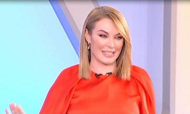 Τατιάνα Στεφανίδου: Δείτε τι αποκάλυψε on air για την κόρη της